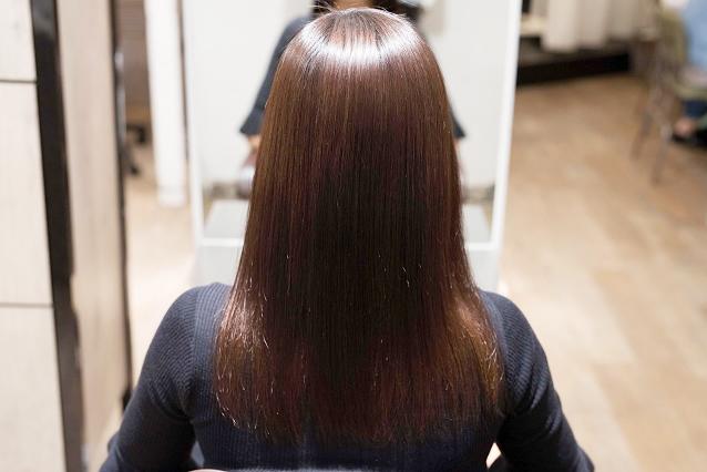 毛髪全体の大~小のうねり|AFTER 施術後