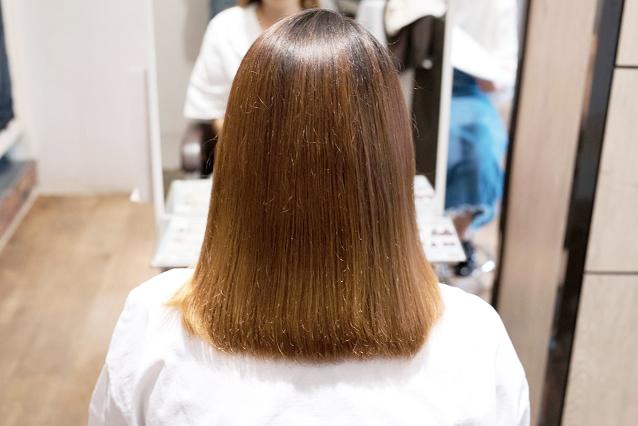 髪の乾燥|AFTER 施術後