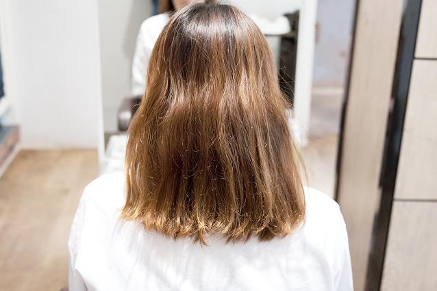 髪の乾燥|BEFORE 施術前