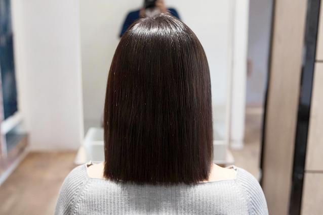 枝毛、切れ毛、アホ毛|AFTER 施術後
