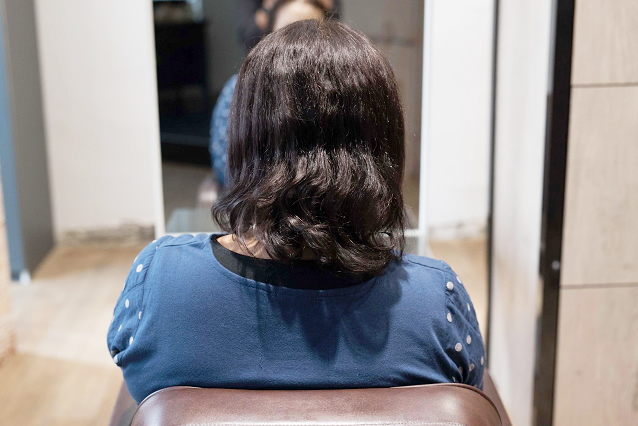 加齢によるエイジング毛|BEFORE 施術前