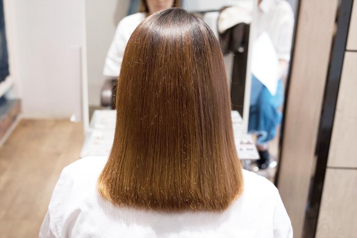初来店の時のAfter|髪質改善カット&トリートメントの施術事例