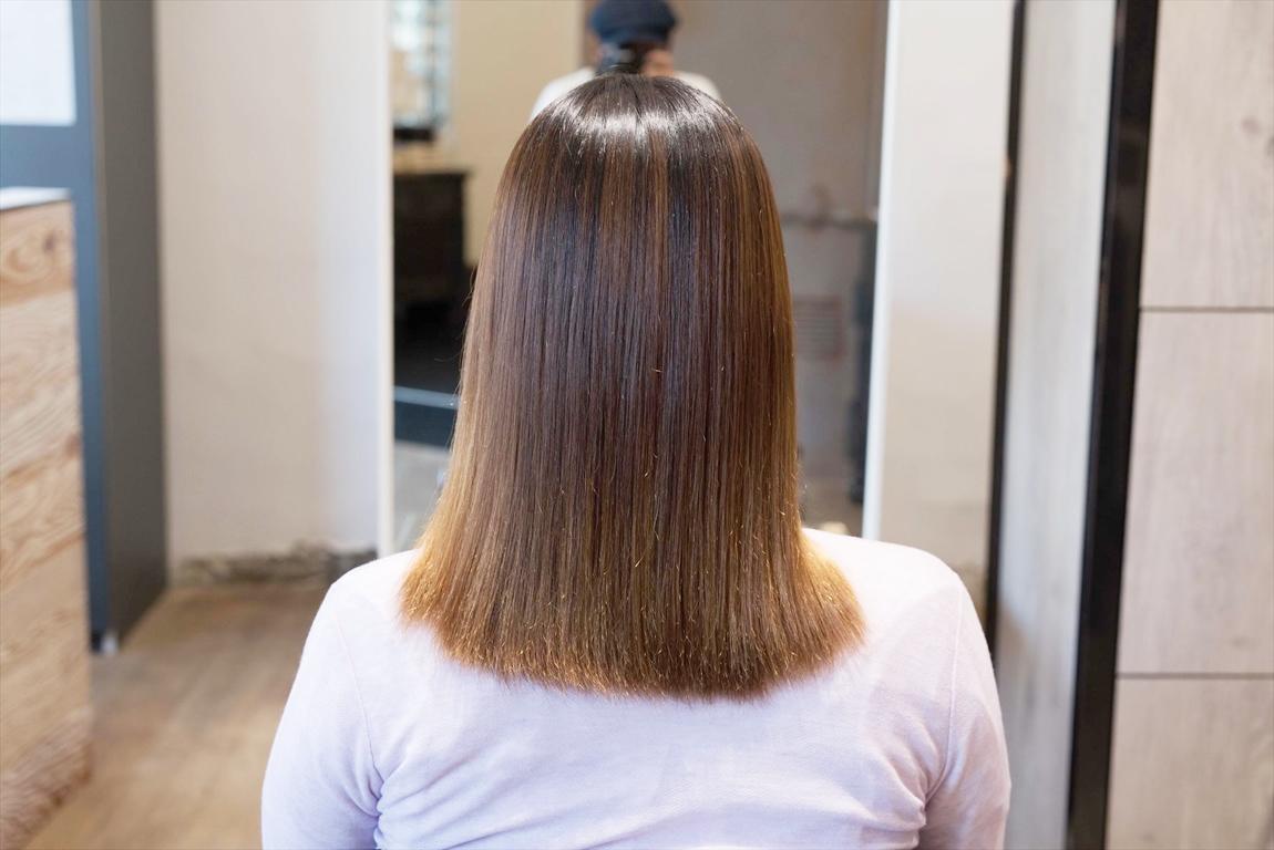 2ヶ月後、2回目のAfter|髪質改善カット&トリートメントの施術事例