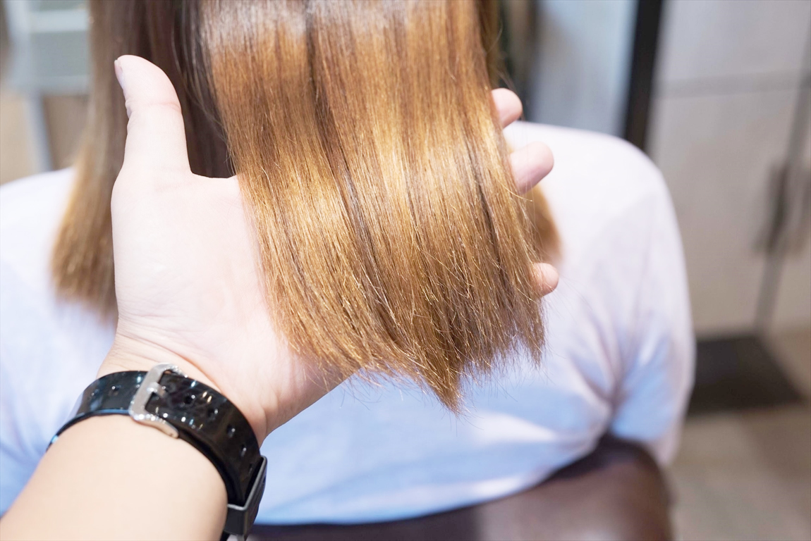 2ヶ月後、2回目のAfter2|髪質改善カット&トリートメントの施術事例