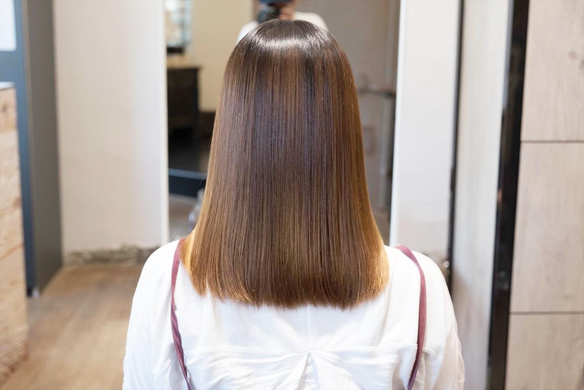 3回目のAfter|髪質改善カット&トリートメントの施術事例