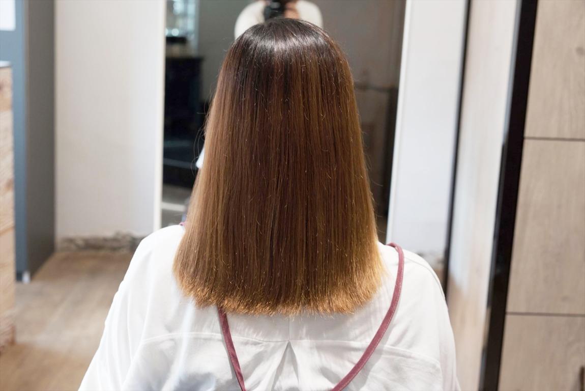 3回目のBefore|髪質改善カット&トリートメントの施術事例
