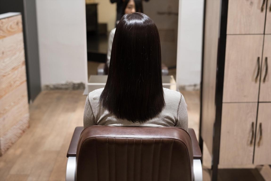 髪質が改善されると髪が自然に綺麗にまとまる
