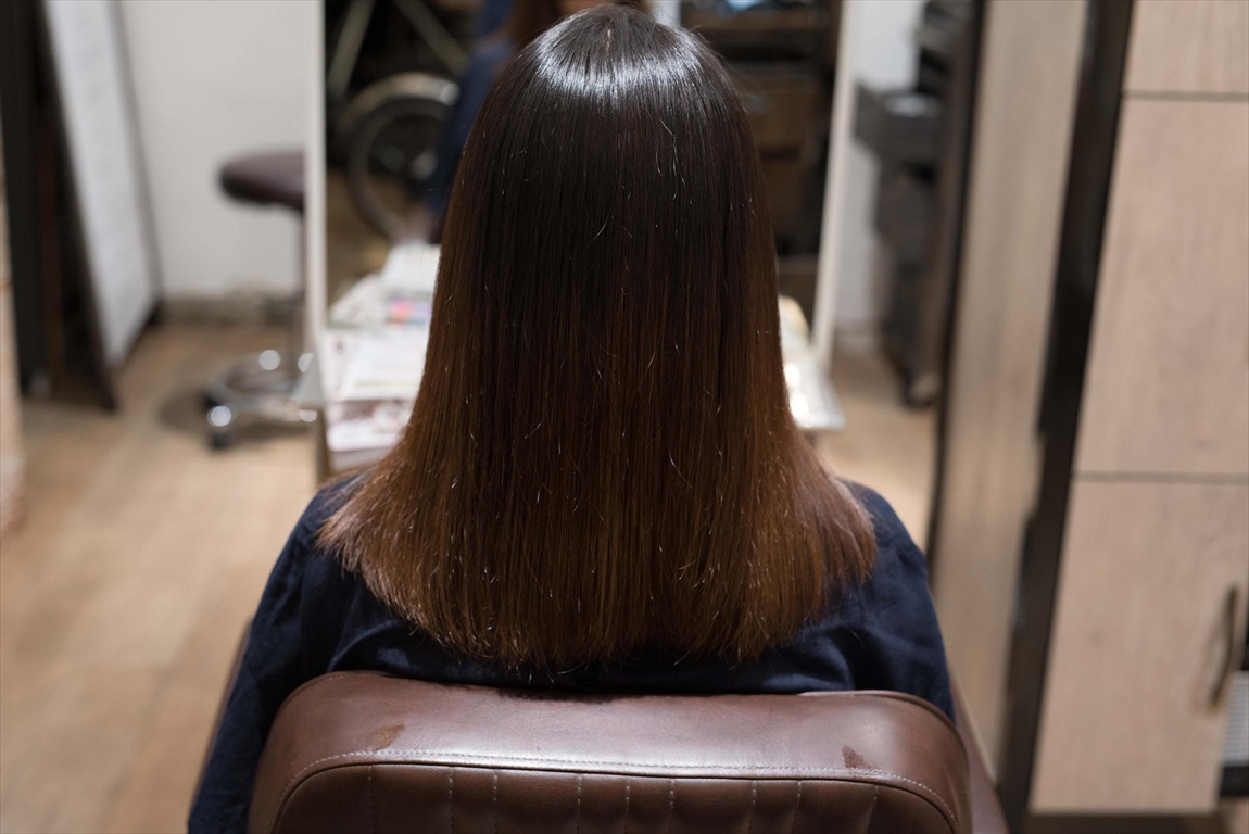 AFTER|施術前 髪の乾燥が気になる方に髪質改善カット&トリートメントがおすすめ