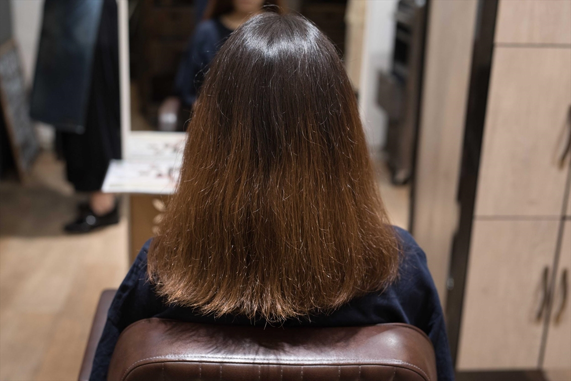 BEFORE|施術前 髪の乾燥が気になる方に髪質改善カット&トリートメントがおすすめ