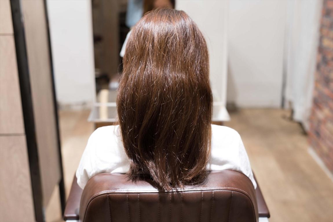 BEFORE|施術前 エイジング毛の方に髪質改善カット&トリートメントがおすすめ