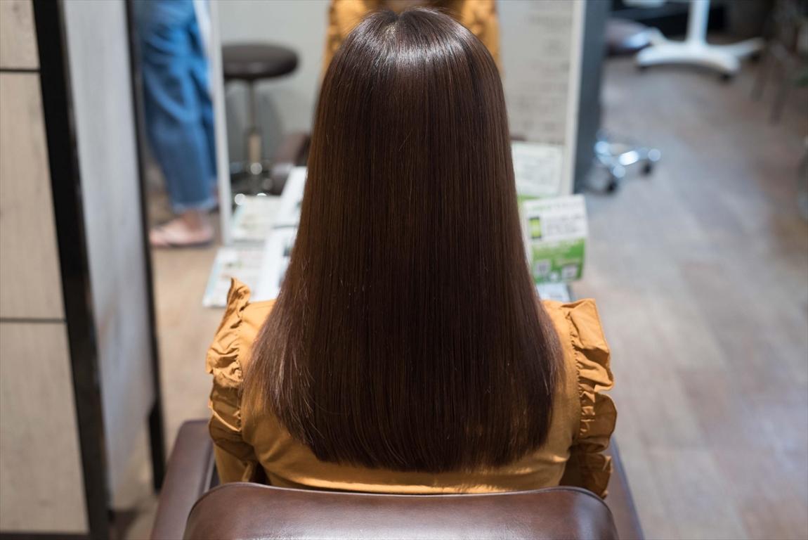 AFTER|施術前 美容室のヘアダメージが気になる方に髪質改善カット&トリートメントがおすすめ