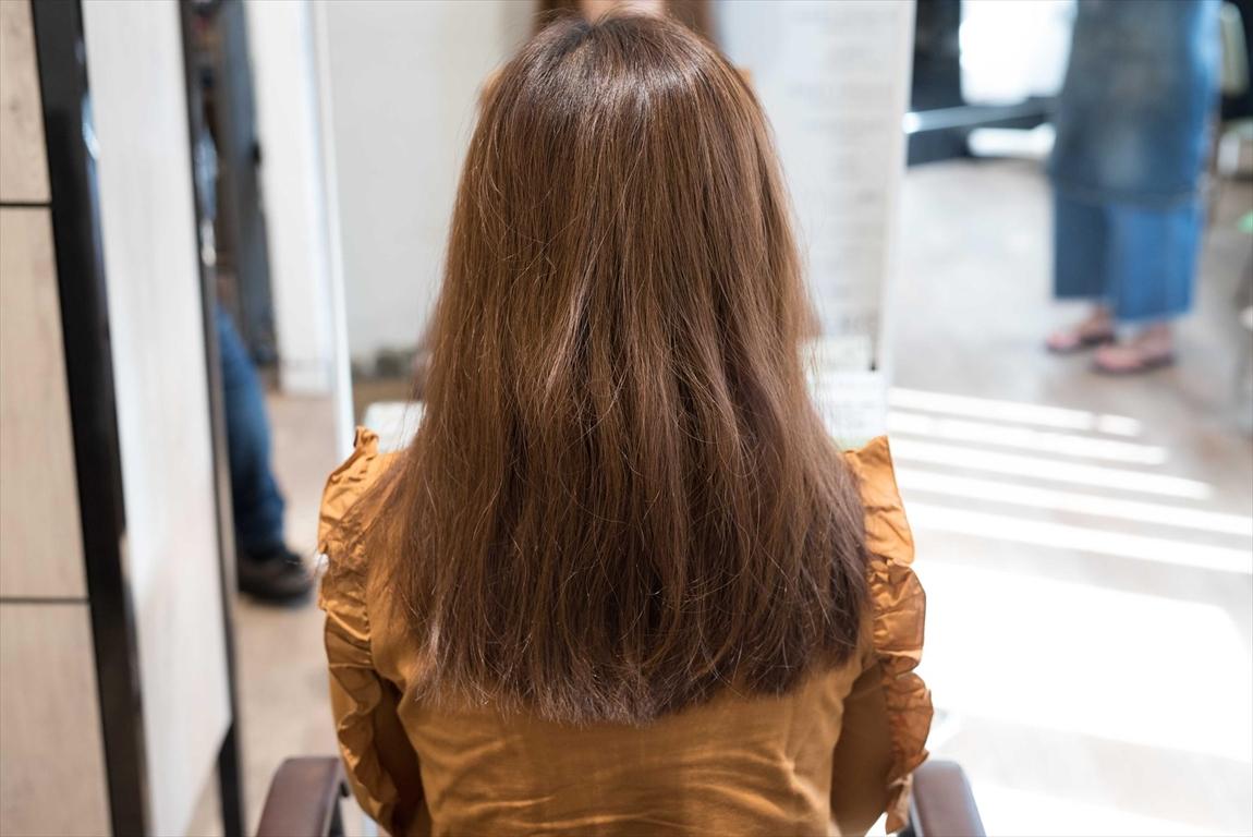 BEFORE|施術前 美容室のヘアダメージが気になる方に髪質改善カット&トリートメントがおすすめ