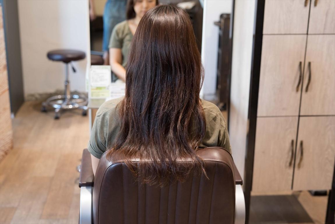 BEFORE|施術前 髪がうねる方に髪質改善カット&トリートメントがおすすめ