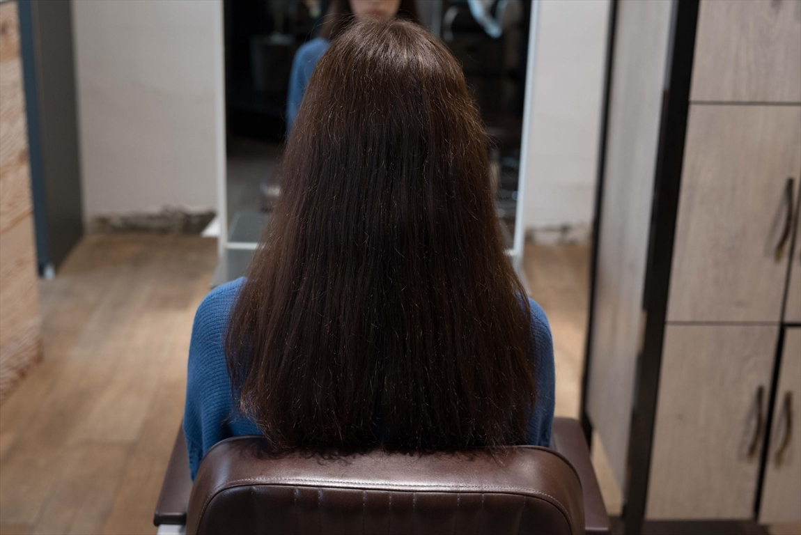 BEFORE|施術前 髪がパサつく方に髪質改善カット&トリートメントがおすすめ