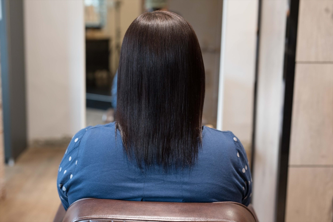 AFTER|施術前 加齢からくる毛髪の変化に髪質改善カット&トリートメントがおすすめ