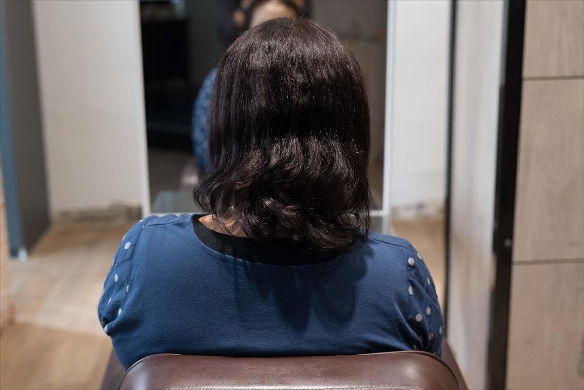 BEFORE|施術前 加齢からくる毛髪の変化に髪質改善カット&トリートメントがおすすめ