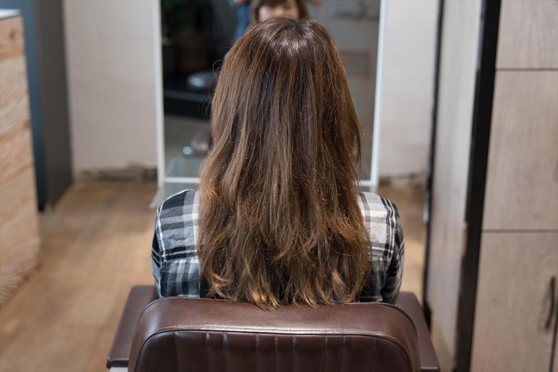 BEFORE|施術前 美容室の薬剤によるヘアダメージに髪質改善カット&トリートメントがおすすめ
