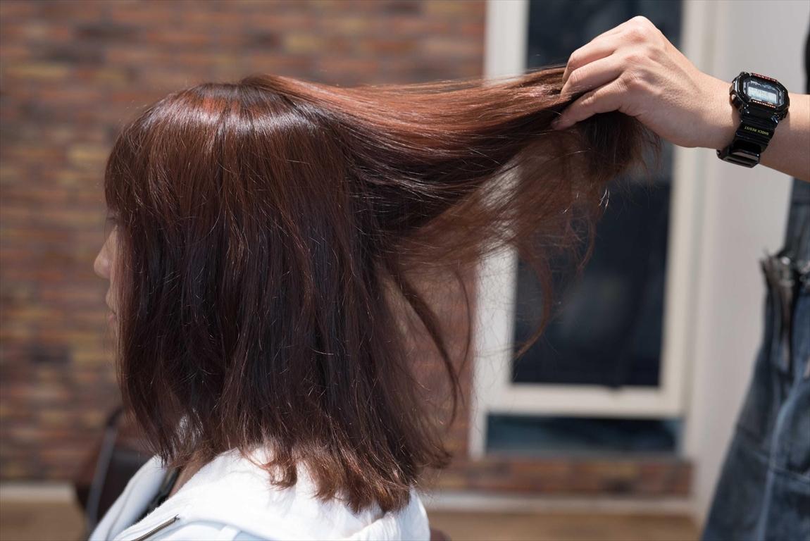 へアカラーをしてから髪が絡まる