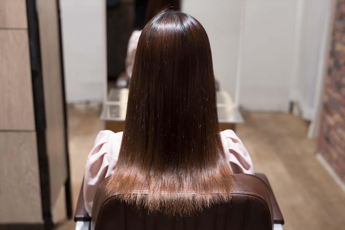 AFTER 施術後|髪質改善矯正の施術事例1