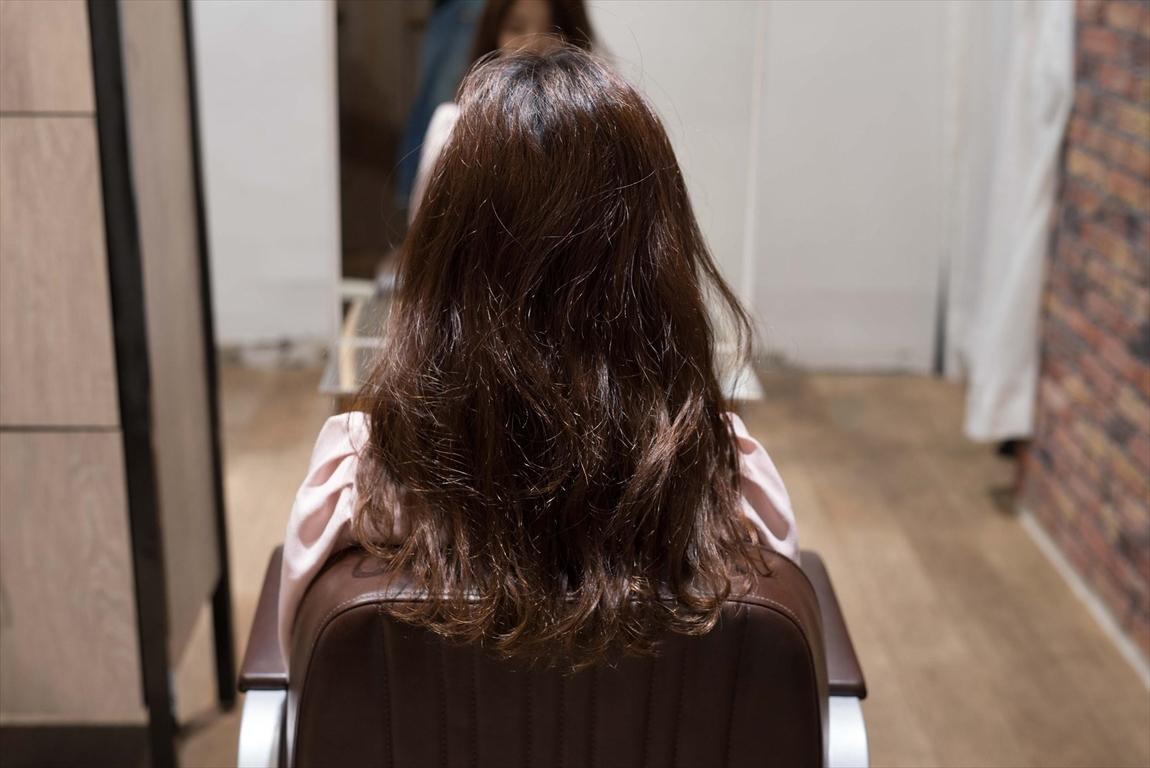 BEFORE 施術前|髪質改善矯正の施術事例1