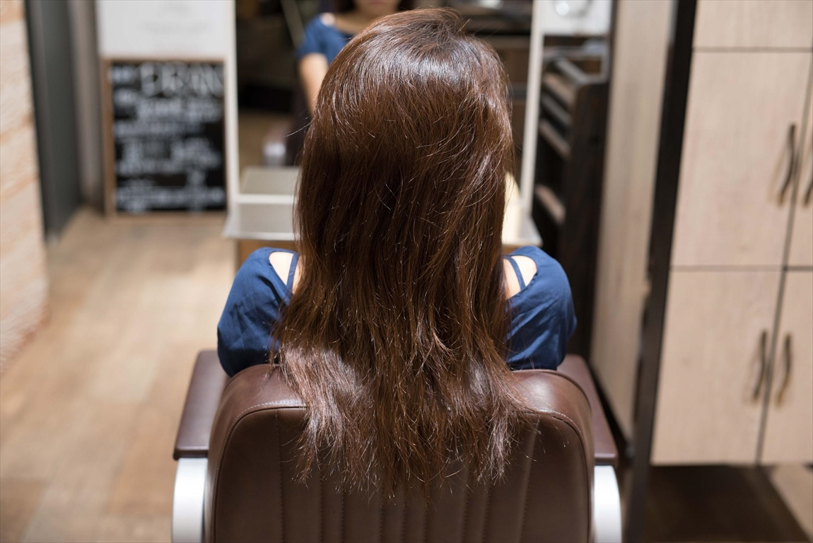 BEFORE 施術前|髪質改善矯正の施術事例2