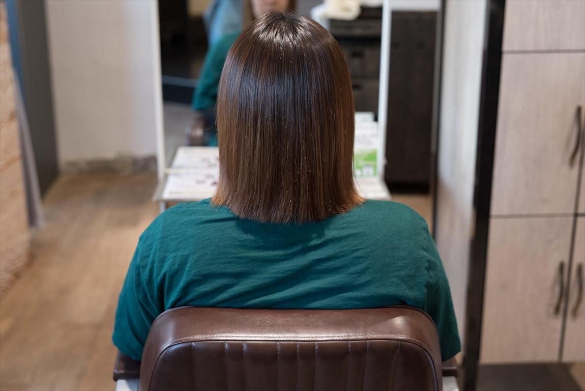 AFTER 施術後|髪質改善矯正の施術事例3