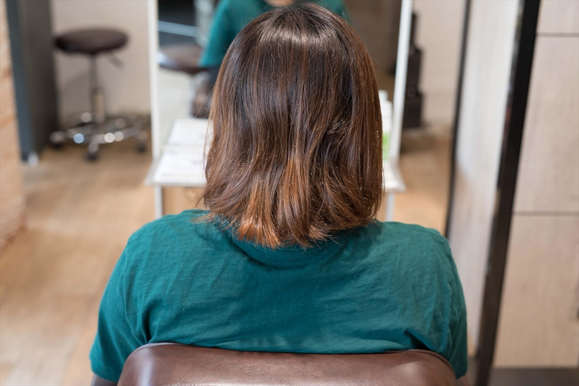 BEFORE 施術前|髪質改善矯正の施術事例3