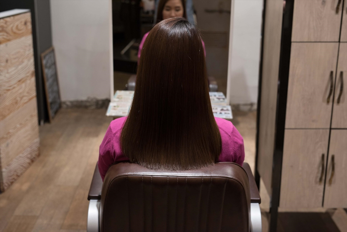 AFTER 施術後|髪質改善矯正の施術事例4