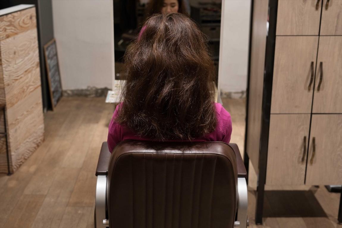 BEFORE 施術前|髪質改善矯正の施術事例4