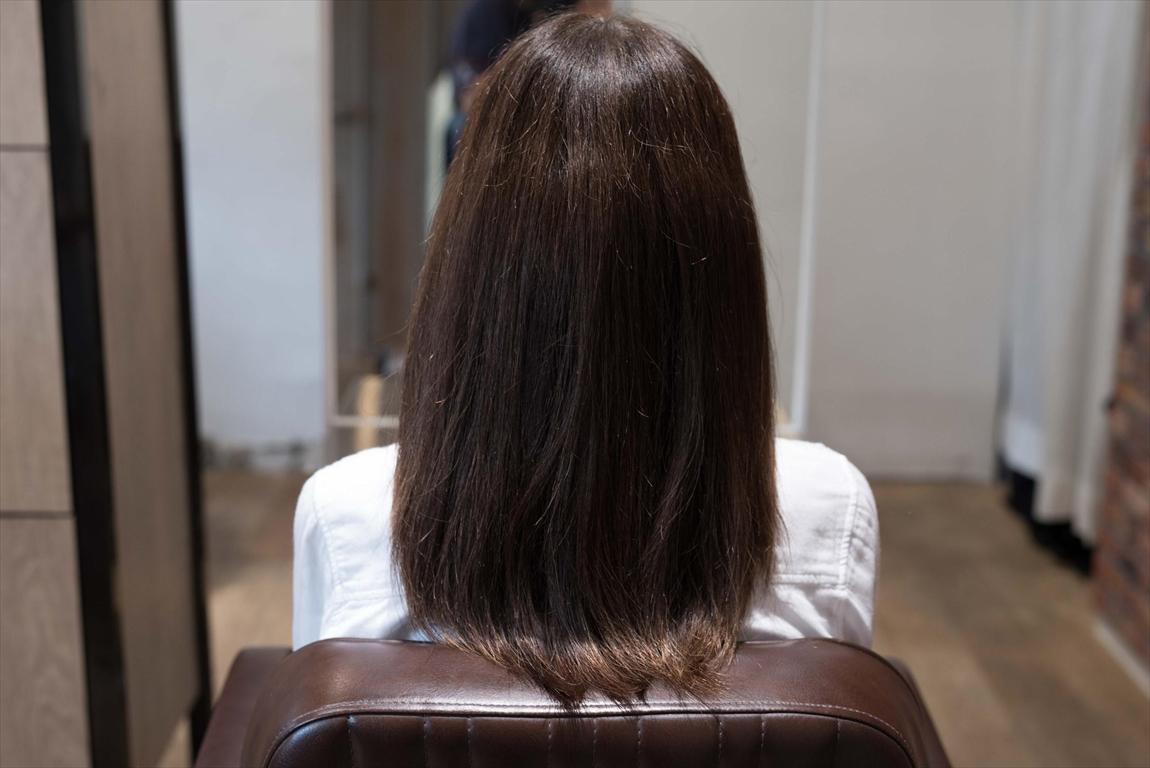 BEFORE 施術前|髪質改善矯正の施術事例5