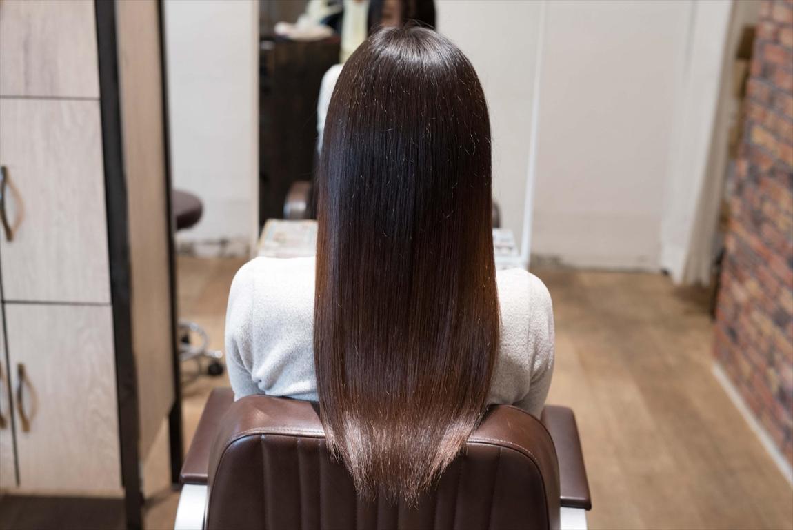 AFTER 施術後|強固なクセ毛な方には髪質改善矯正がおすすめ