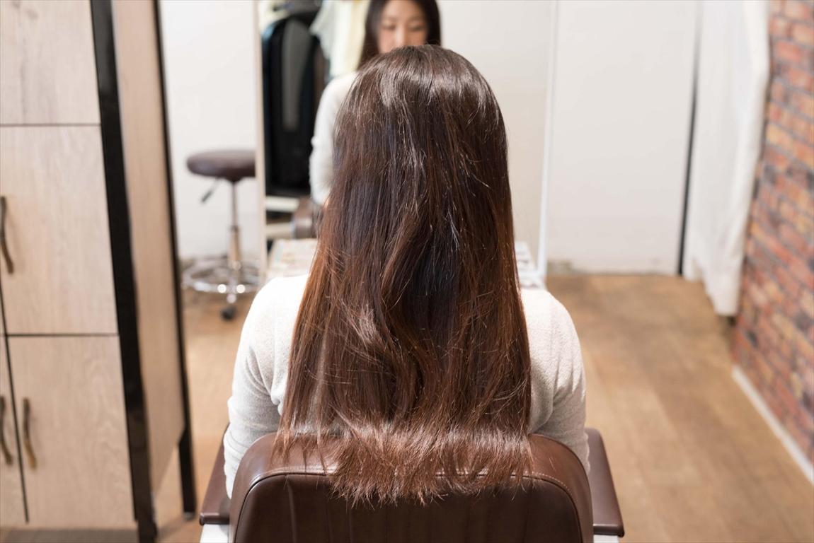 BEFORE 施術前|強固なクセ毛な方には髪質改善矯正がおすすめ