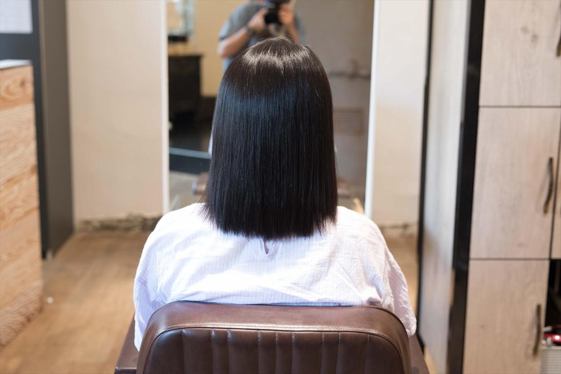 AFTER 施術後|ずっとストレート髪を楽しみたい方