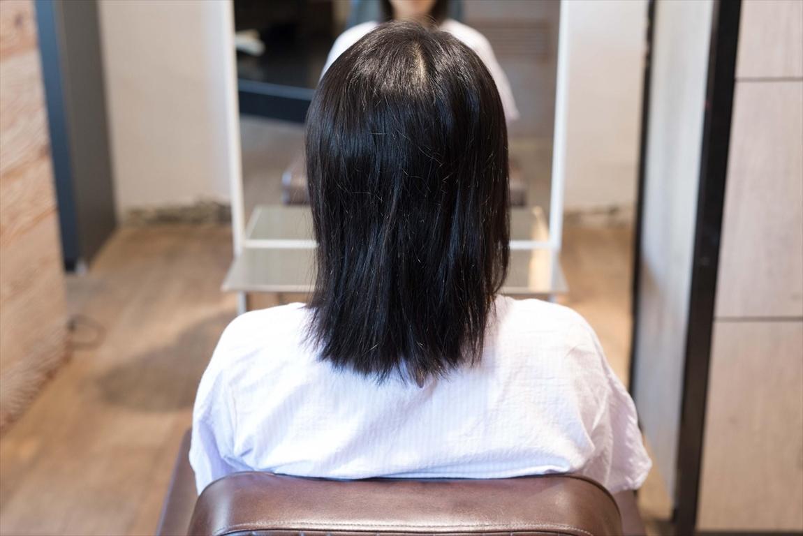 BEFORE 施術前|ずっとストレート髪を楽しみたい方