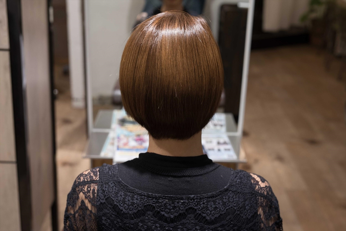 AFTER 施術後|髪質改善パーマは髪の悩みをお持ちの方におすすめ