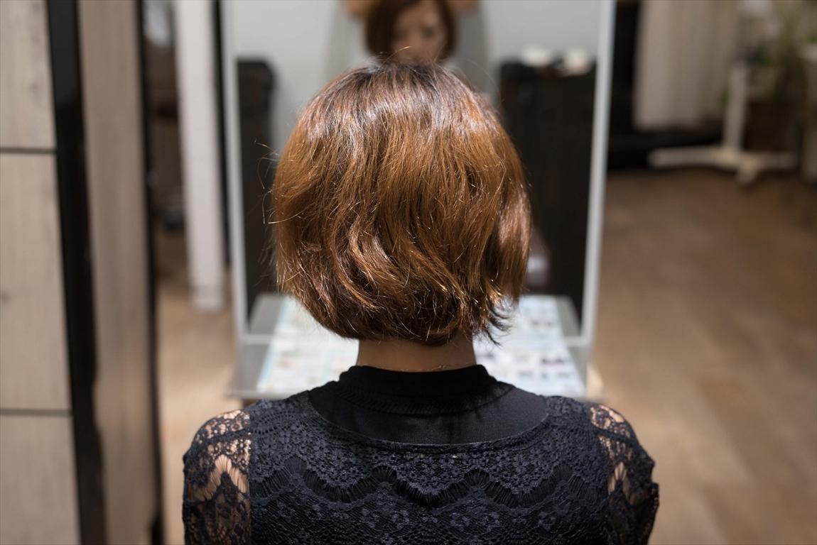 BEFORE 施術前|髪質改善パーマは髪の悩みをお持ちの方におすすめ
