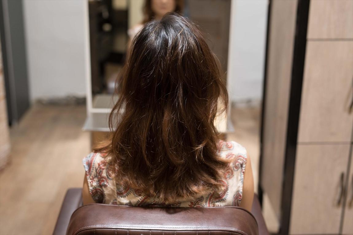 BEFORE 施術前|髪がはねる方には髪質改善矯正がおすすめ