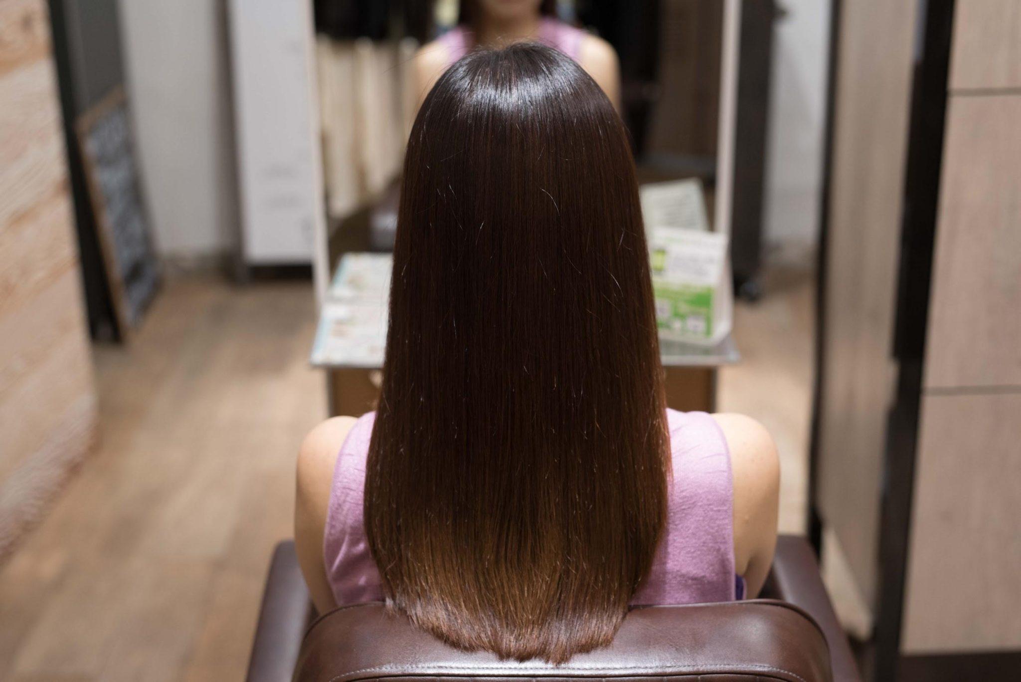 AFTER 施術後|髪が広がる方には髪質改善矯正がおすすめ