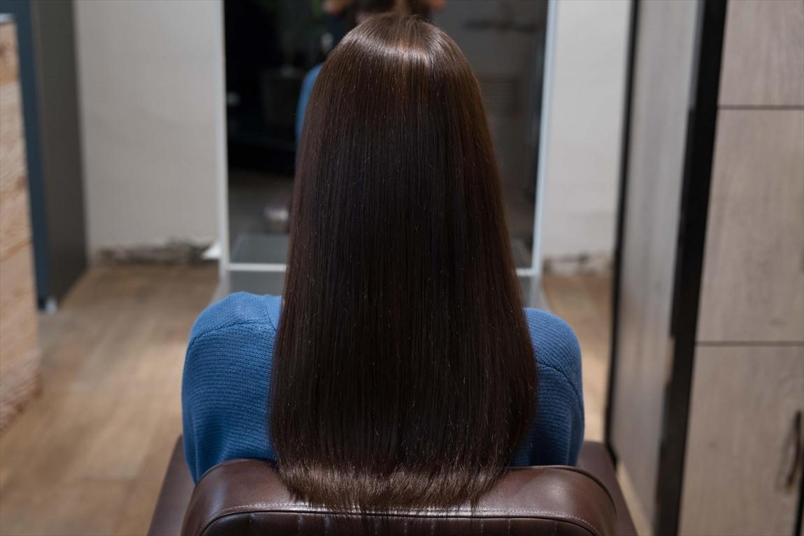 AFTER 施術後|髪がパサつく方には髪質改善矯正がおすすめ