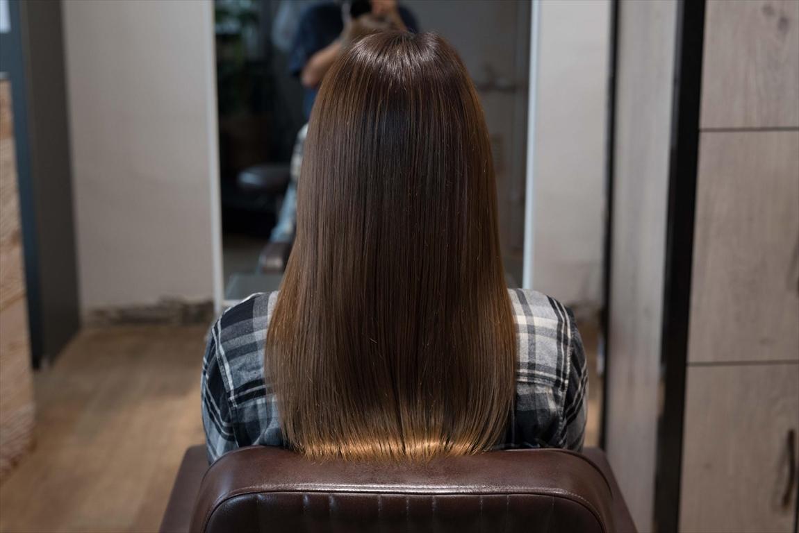 AFTER 施術後|美容室の薬剤によるヘアダメージには髪質改善矯正がおすすめ