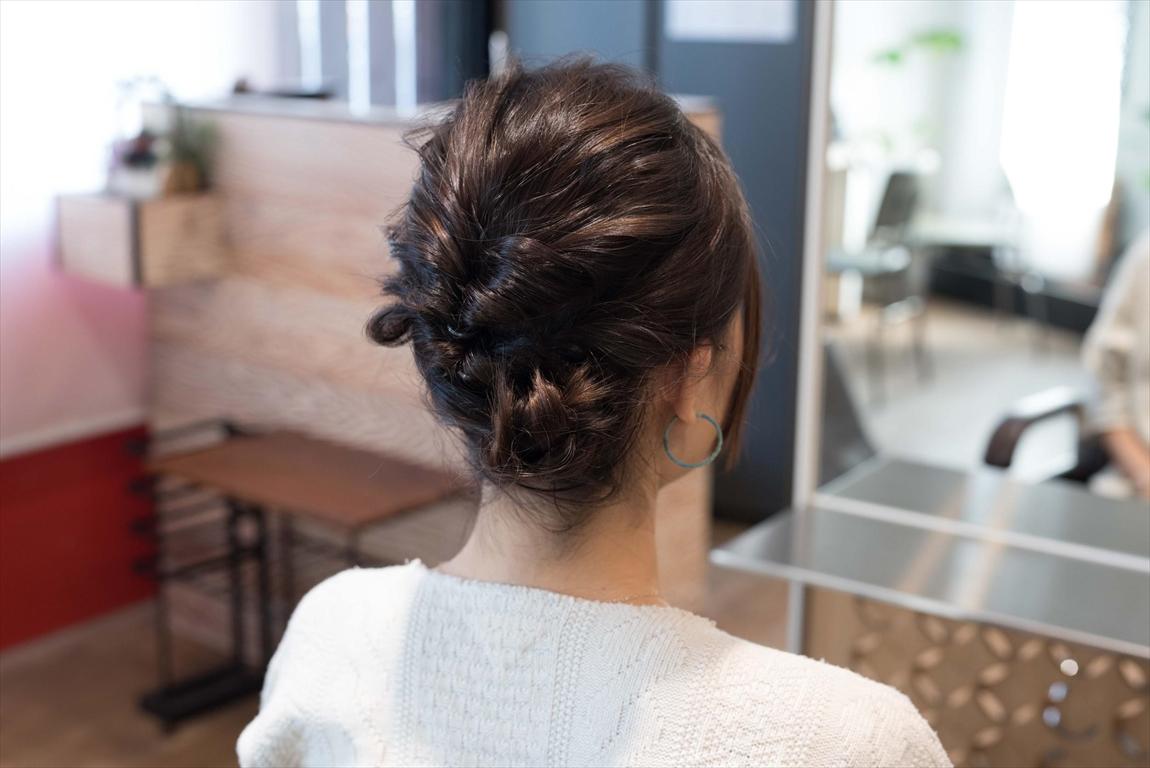 ヘアアレンジも可能|髪質改善矯正のメリット