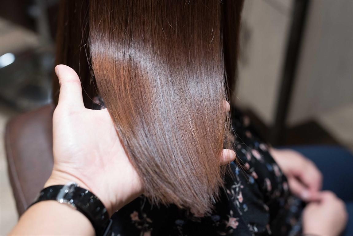 ヘアダメージが縮毛矯正と比べたら全然少ない|髪質改善矯正のメリット