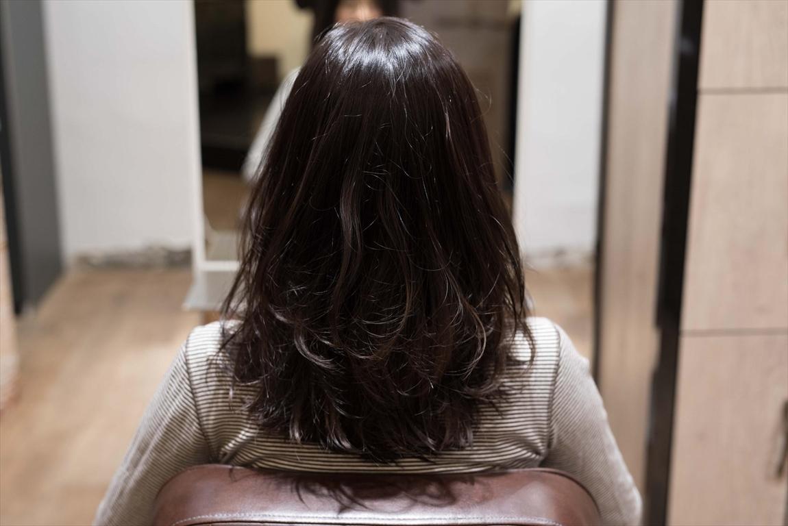 AFTER 施術後|髪質改善パーマ施術事例1