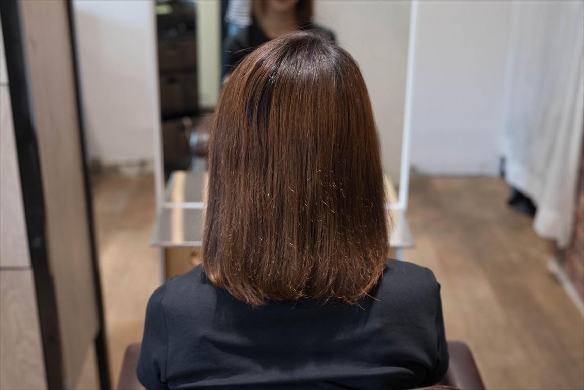 BEFORE 施術前|髪質改善パーマ施術事例2