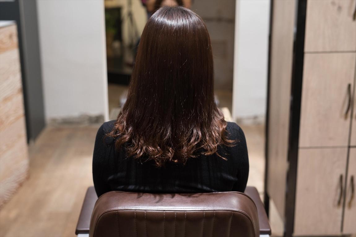AFTER 施術後|髪質改善パーマ施術事例3