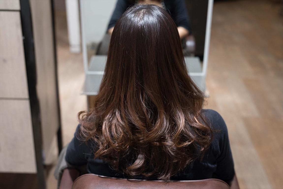 AFTER 施術後|髪質改善パーマ施術事例4