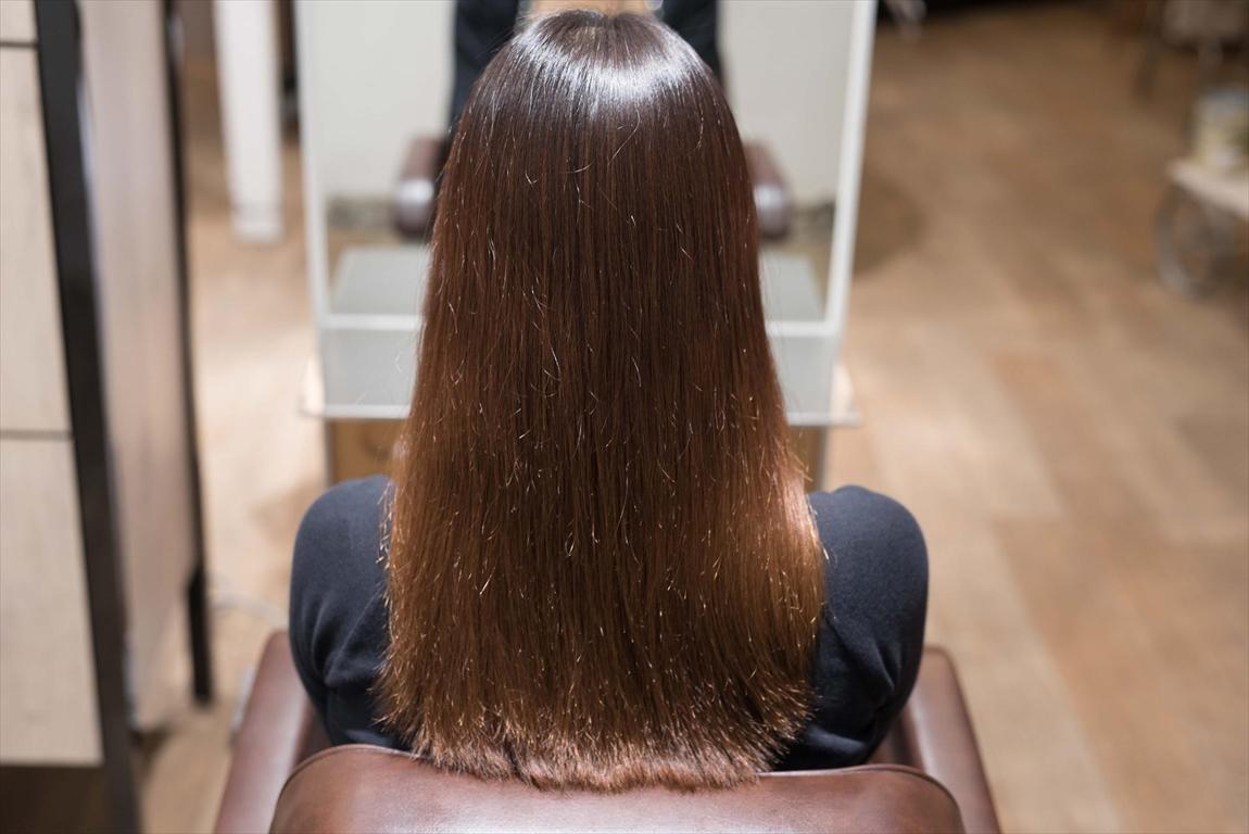 BEFORE 施術前|髪質改善パーマ施術事例4