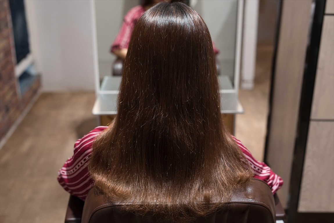 BEFORE 施術前|髪質改善パーマ施術事例5