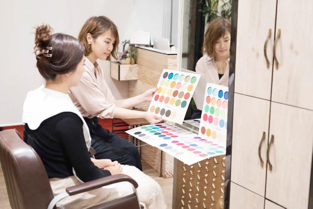 髪質改善ができればヘアスタイル作りのスタートライン!パーソナルカラー診断で自分史上最高の似合わせヘアを実現