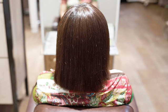 DRANの髪質改善なら、あなたの『なりたい』を叶えます|AFTER 施術後